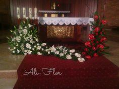 dekoracja ołtarza