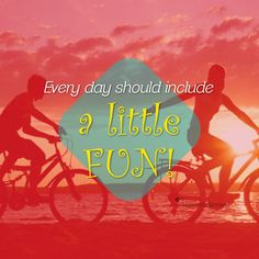 Life should always include a little #fun! ❤ LOM #Inspiration