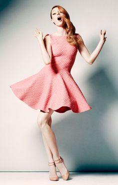 this dress. those shoes. coco rocha.