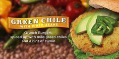 Green Chile Qrunch Burger - QRUNCH Foods