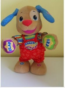 2011 Laugh and Learn Dance and Wiggle Puppy Dog Fisher Price Interactive Toy | eBay