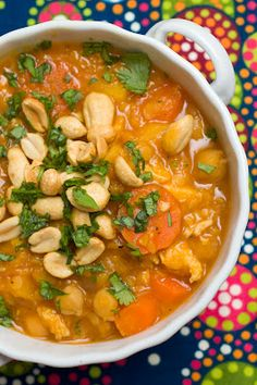 butternut squash, chickpea & red lentil stew
