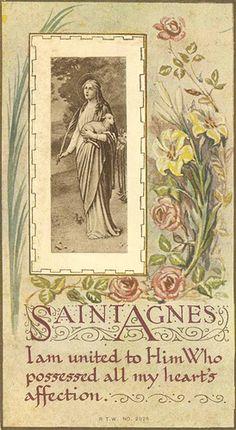 Saint Agnes, patroness of breast cancer victims - undated Catholic Quotes, Catholic Prayers, Catholic Art, Catholic Saints, Roman Catholic, Religious Art, Virgin Mary, St Pio Of Pietrelcina, Santa Ines