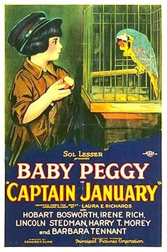 Cinema classics on DVD: Baby Peggy Montgomery & Clara Bow ~ Captain January, Helen's Babies (1924) & The Plastic Age (1925)