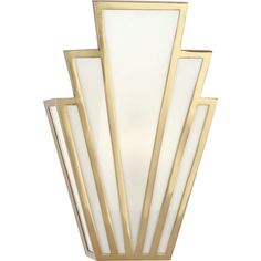 Art Deco Flare Sconce - Shades of Light Lampe Art Deco, Art Deco Decor, Art Deco Home, Art Deco Design, Decoration, Art Deco Bar, 1920s Art Deco, Room Decor, Art Deco Lighting