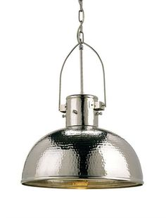 Currey and Company 9696 Syllabus - One Light Pendant, Nickel Finish #CurreyCompany #pendantlights #lights #giftsforyounme