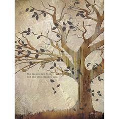 The Tree Stands Still - art print by Penny Lane artist Marla Rae.
