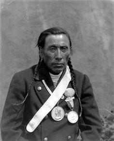 Chief Yellow Horse, Blackfoot.
