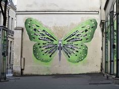 Street art by French artist Ludo