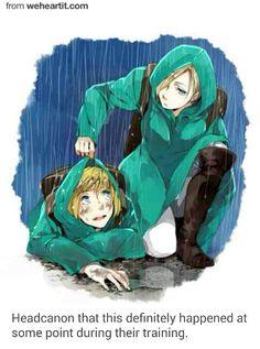 Armin x Annie, Aruani, attack on titan, AOT, SNK