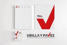 Ubilla y Pavez Corporate Identity ©D.Tetzner ©B.La Rivera