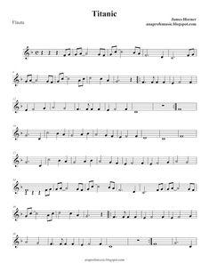 Ana Music: Partitura BSO TITANIC Piano Sheet Music Letters, Trumpet Sheet Music, Saxophone Sheet Music, Cello Music, Violin Songs, Song Sheet, Music Lessons, Stevie Ray, Stevie Nicks