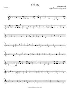 Ana Music: Partitura BSO TITANIC