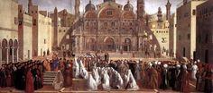 The Athenaeum - Sermon of St Mark in Alexandria (Giovanni Bellini - )
