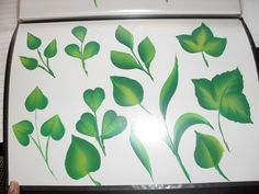 One Stroke Painting Ideas | ... Craft in India by Chandrika Kamath: One Stroke Painting at Vile Parle