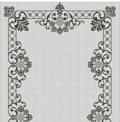 Скатерть Cross Stitch, Tapestry, Embroidery, Crochet, Salons, Crafts, Inspiration, Home Decor, Tablecloths