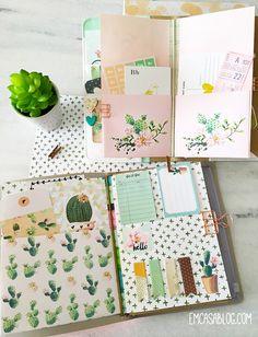 Em Casa Blog: Free Cactus Planner Printables