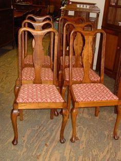 Antique Maple Dining Chairs
