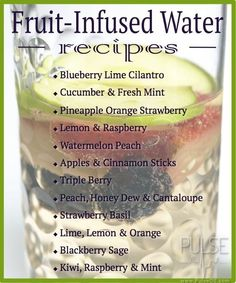 Fruit Infused Water Pictures, Photos, and Images for Facebook, Tumblr, Pinterest, and Twitter