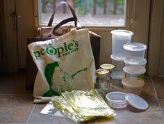 Bonzai Aphrodite (vegan/sustainable/whole foods):  grocery list