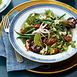 Fresh Pear-and-Green Bean Salad with Sorghum Vinaigrette Recipe | MyRecipes.com