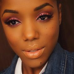 """#jaclynhillfavorites by @morphebrushes on the eyes. bev falsies @lashesbylena. naked lipstick @motivescosmetics"" Photo taken by @ellarie on Instagram, pinned via the InstaPin iOS App! http://www.instapinapp.com (01/07/2015)"