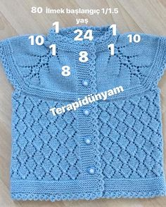 # Knitting # # I love knitting # # knitting # # knitting # # knitting # – cardigan Crochet Baby Jacket, Crochet Baby Sweaters, Knitted Baby Cardigan, Knitted Baby Clothes, Crochet Baby Booties, Baby Knitting Patterns, Toddler Dress Patterns, Knitting For Kids, Easy Knitting