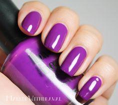 Makeup Withdrawal: Purple Polish Spam