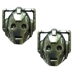 Doctor Who Cyberman Earrings