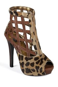 Maize Platform Sandal on HauteLook - I don't think leopard prints will ever go out of style.