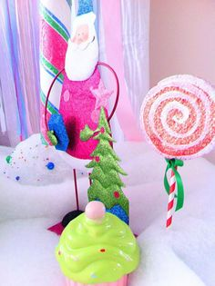 Glittery Christmas Candy Land Party