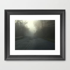 Fog Framed Art Print by Jaymee - $40.00