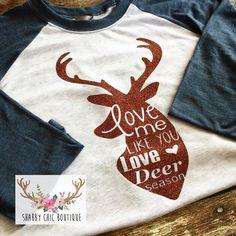 Hunting Deer Season Love Shirt Raglan Baseball 3/4 Sleeve Funny Parody... ($25) ❤ liked on Polyvore featuring tops, black, tanks, women's clothing, raglan shirts, black 3/4 sleeve shirt, black top, shirts & tops and black 3/4 sleeve top