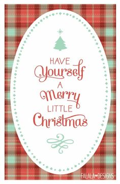 livin-on-lovee: Have Yourself A Merry Little Christmas