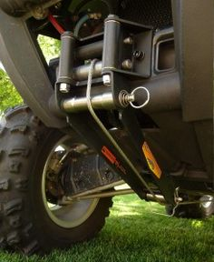 Reversaroller Bracket allows you to winch your ATV backwards with a front mounted winch