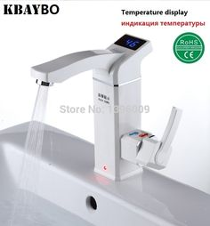 3500W Electric Instant Water Heater Tap Instantaneous Electric Hot Water Faucet Tankless Heating Bathroom Kitchen Faucet http://ali.pub/dk5pq