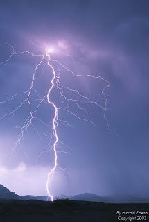 Lightening can strike 10 miles from storm center.