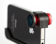 Olloclip is a three-in-one lens attachment that adds plenty of extra zing to the iPhone 4's standard lens
