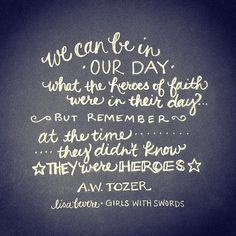 quote by AW Tozer // Lisa Bevere, Girls With Swords | Flickr - Photo Sharing!