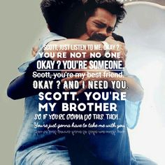 Wallpaper Brother Scott and Stiles