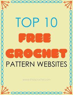 my 10 favorites websites for free crochet patterns