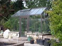 Cottage Glass Greenhouse - Hobby Greenhouse Kits