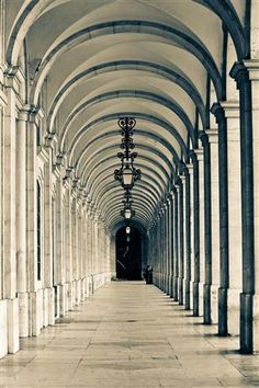 Original art for sale at UGallery.com | Walking in Lisbon by Rebecca Plotnick | $225 | photography | 36 h x 24 w