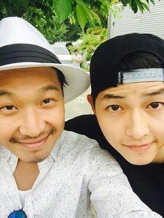 Haha and Joong Ki <3