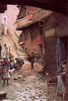 1556- Pope Paul IV orders all Roman Jews into a ghetto.  Its walls will stand for almost 300 years.