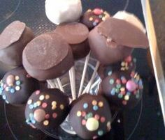 Vanille cake pops thermomix