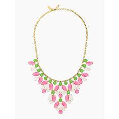 marquee statement necklace