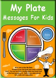 Slp Teaching Kids And Parents Nutrition My Plate Food Groups Healthy Messages For Kids Rn In The Making Teaching Teaching Kids Nutrition