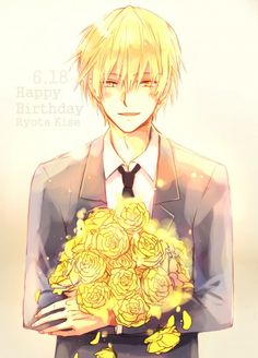 Ahh~ He's so cute!! >w< This is here to remind me when his birthday is! >:D 6/18/?