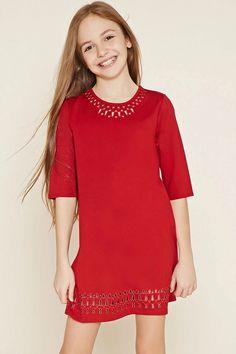 Girls A-Line Dress (Kids) #f21kids